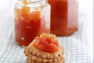 Recette de marmelade aux 2 agrumes orange-pamplemousse facile ...
