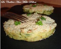 Recette galettes de pommes de terre et courgettes