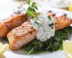 Recette pavés de saumon en papillotes