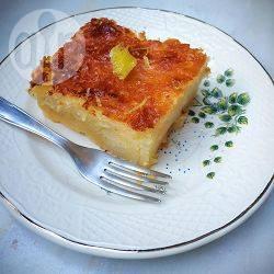 Recette lemonopita : gâteau grec au citron – toutes les recettes ...