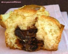 Recette muffins au coeur fondant au chocolat