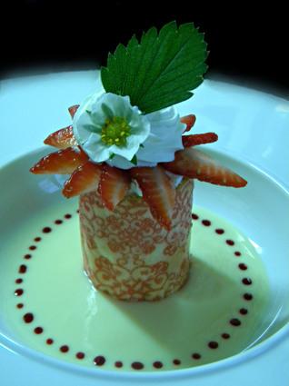 Recette de mug aux fraises à la crème de citron