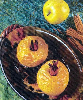 Recette de pommes au four à la cannelle