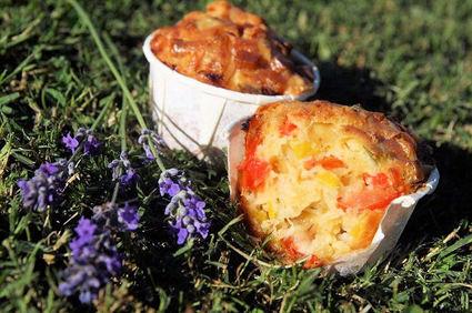 Recette de muffins aux légumes d'été