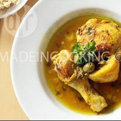 Recette poulet aux deux citrons (confit et naturel) façon tajine ...