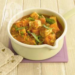 Recette curry de patates douces au tofu – toutes les recettes ...