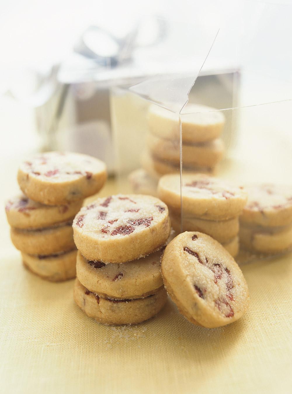 Biscuits aux canneberges réfrigérateur | ricardo