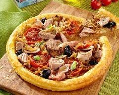 Recette tarte fine au thon, endives, tomates et jambon de parme