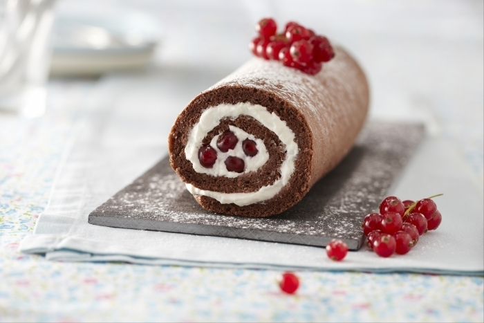 Recette de gâteau roulé au chocolat facile et rapide