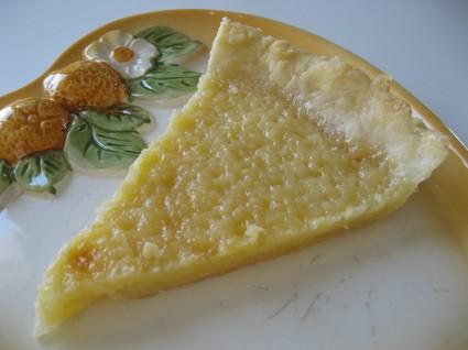 Recette de tarte au citron classique