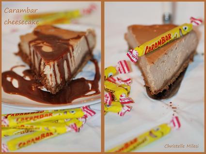 Recette de carambar cheesecake