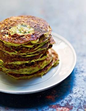 Pancakes de courgettes et ricotta à la menthe pour 4 personnes ...