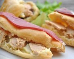 Recette eclairs salés au foie gras sur purée d'artichaut