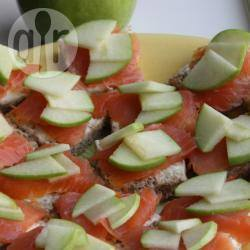 Recette toast saumon et pomme granny – toutes les recettes ...
