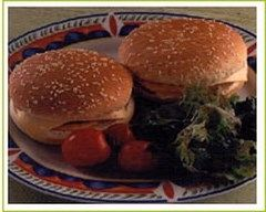Recette hamburgers au bacon et cheddar