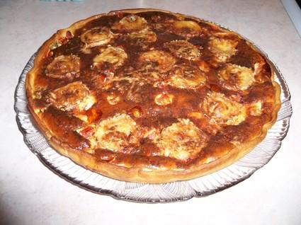 Recette quiche courgettes-tomates (quiche)