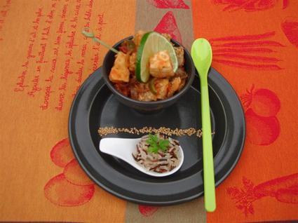 Recette de wok d'espadon et poivron pimenté au gingembre et soja ...
