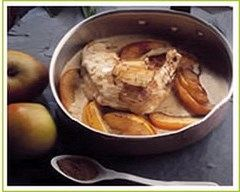 Recette cuisses de poulet aux pommes et au cumin