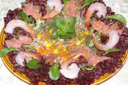 Recette de salade océane