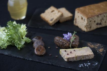 Recette de foie gras mi-cuit, chutney de figues au miel, pain d ...