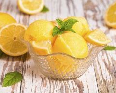 Recette sorbet au citron
