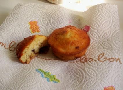 Recette de muffins au yaourt à la poire et pépites de chocolat