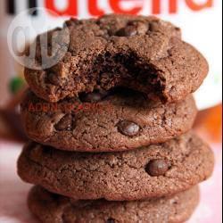 Recette cookies moelleux au nutella™ et aux pépites de chocolat ...
