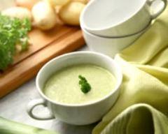 Recette soupe aux légumes verts