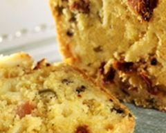 Recette cake au cabécou du périgord, olives et tomates séchées