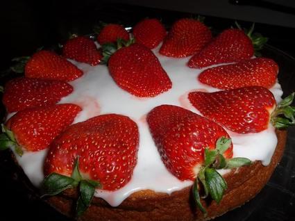 Recette de gâteau portugais aux fraises pour fête des mères