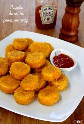 Recette de nuggets de poulet panés aux curly