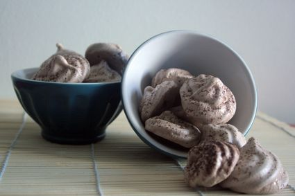 Recette de meringues au cacao
