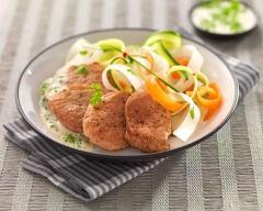 Recette filet mignon de porc crémeux aux herbes fraîches