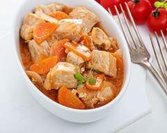 Recette ragoût de porc aux carottes