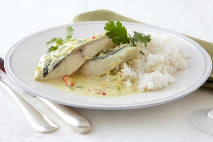 Recette de curry vert de poisson au lait de coco à l'indonésienne ...