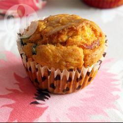 Recette muffins ou cakes salés au chorizo et aux olives – toutes les ...