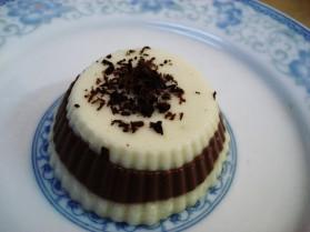 Entremet menthe poivrée – chocolat à l'agar-agar pour 4 personnes ...