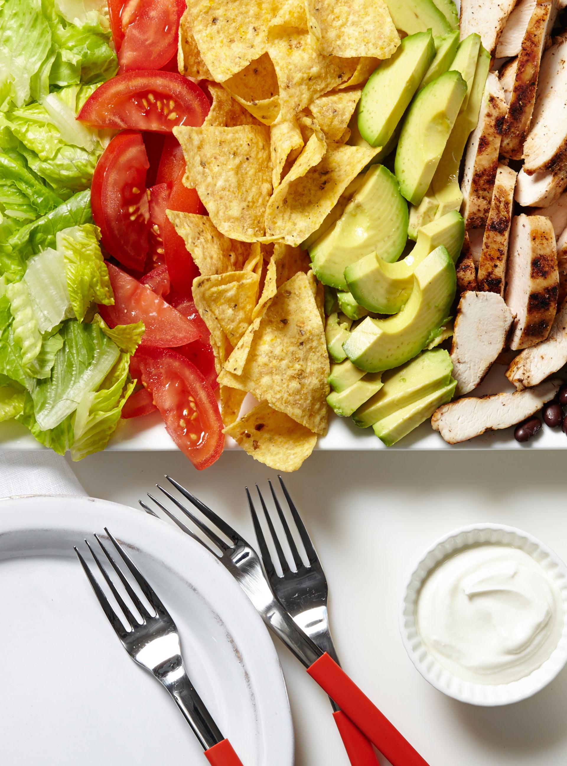Salade-taco au poulet | ricardo