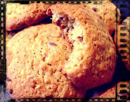 Recette de cookies avoine peanut butter orange confite et pépites ...