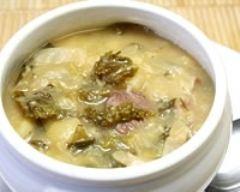 Recette soupe aux deux choux