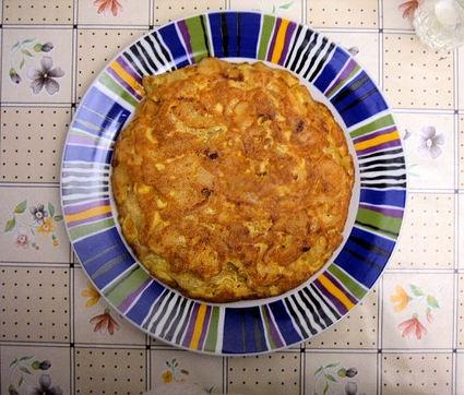 Recette de tortilla de patata