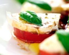 Recette salade de tomate et mozzarella