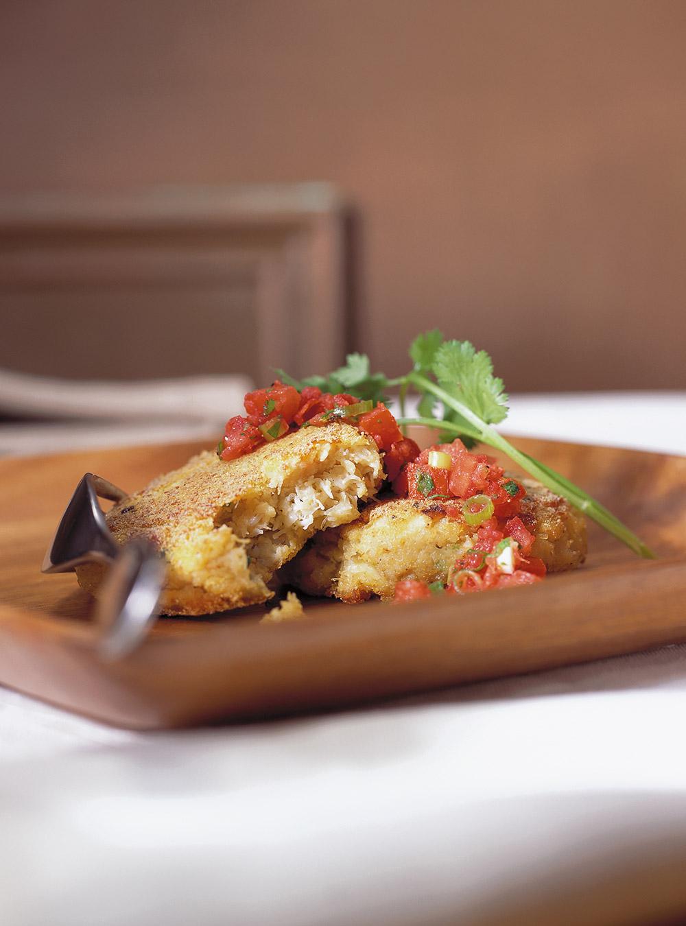 Croquettes de crabe et ses deux sauces | ricardo