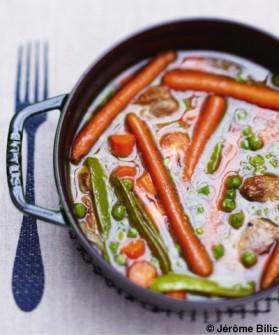 Navarin de collier d'agneau aux petits légumes pour 6 personnes ...