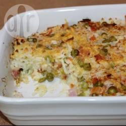Recette gratin de riz au gruyère et au jambon – toutes les recettes ...