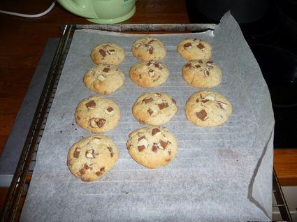 Recette de cookies au kinder