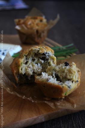 Recette de muffins aux noix et roquefort