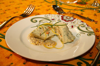 Recette de terrine de poisson aux coquilles st-jacques