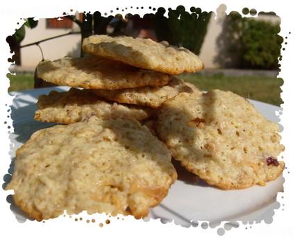 Recette de cookies au muesli fraise/yaourt ( allemagne)