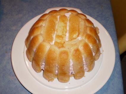 Recette de charlotte express au fromage blanc et fruits